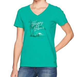 Life is Good Happy Hour Tee NWT small